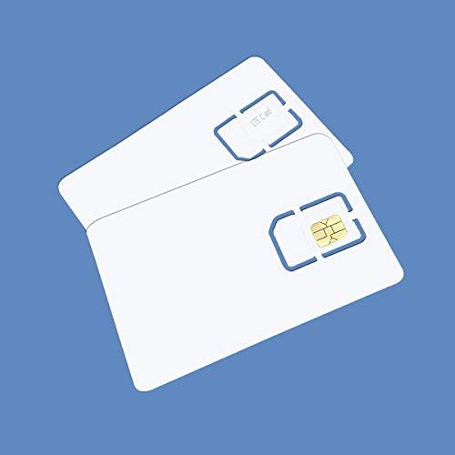 Anordsem Schreibbare Programmierbare Leere SIM USIM Karte 4G LTE WCDMA GSM Nano Mikro-SIM Karte 2FF 3FF 4FF für Telekommunikations-Betreiber (10 Stücke)