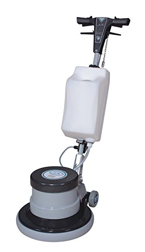 Industrial Floor Polisher Machine with (1 Tank + 2 Brushes + 1 Pad Holder) ,1.5 HP