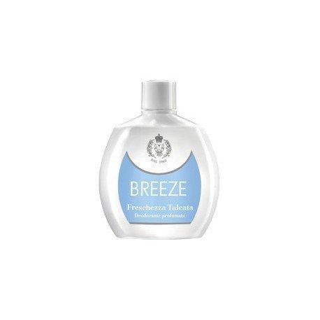 6 x Breeze Deo personne Squeeze fraîcheur talcata 100 ml