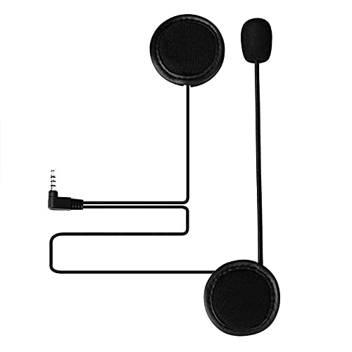 VNETPHONE Micrófono Auriculares para V6 Motocicleta Casco Bluetooth Intercomunicador Interphone