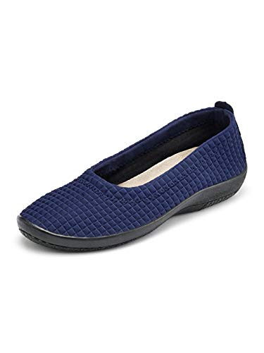 Avena Damen Hallux-Soft-Slipper Blau Gr. 41