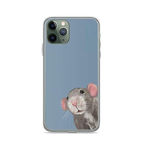 Phone Case The Peeking Rat Compatible with iPhone 6 6s 7 8 X XS XR 11 Pro Max SE 2020 Samsung Galaxy Charm Shockproof Shock