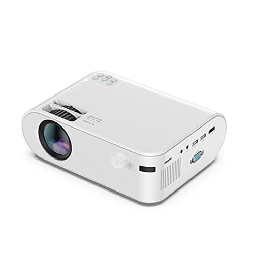 YFQHDD P62 Mini-Projektor 4000 Lumen, 1920 * 1080P unterstützter...