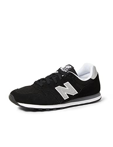 New Balance 373 Core, Zapatillas Hombre, Black, 44 EU