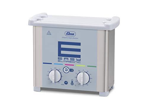 Elmasonic Easy 10H Ultraschallreinigungsgerät mit Heizung 1 Liter 37kHz 230V made in Germany Reinigung von Schmuck, Uhrenteile, Abdrucklöffel, Brillen, Metallteile, Laborinstrumente