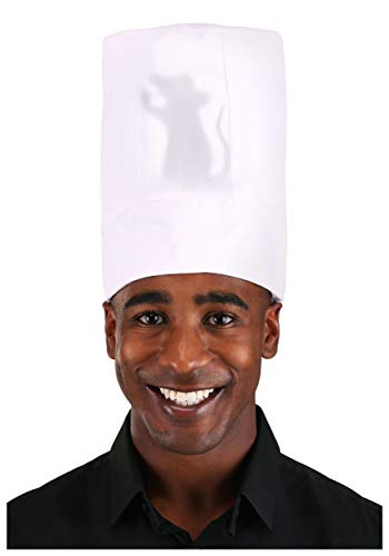 Disney Ratatouille Light-Up Costume Chef Hat for Adults and Kids White