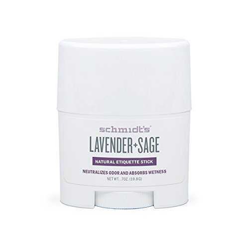 Schmidt's Lavender + Sage Natural Deodorant Stick Travel Size 0.7 oz / 19.8 g