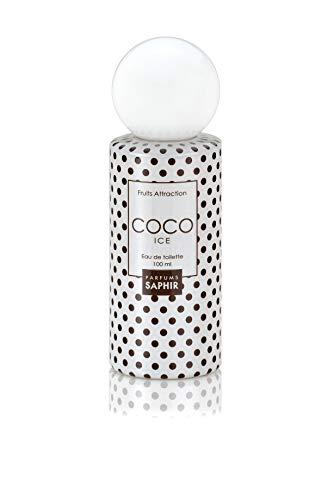 PARFUMS SAPHIR Fruits Attraction Coco - Eau de Toilette con vaporizador para Mujer - 100 ml