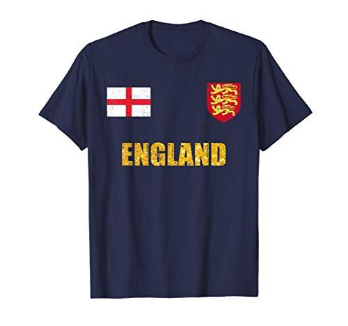 England Soccer Jersey World Shirt Cup Football Fan Flag Gift
