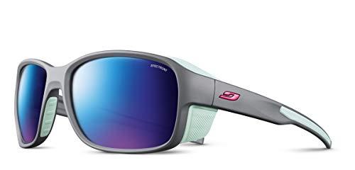 Julbo Monterosa 2 Spectron 3CF Sonnenbrille Grey/Green 2021 Fahrradbrille