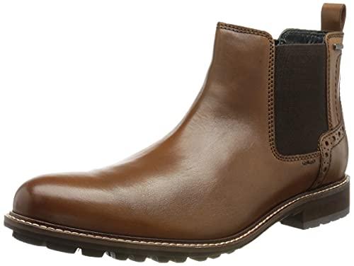 Josef Seibel Men's Chukka Boots Sneaker, Cognac, 15