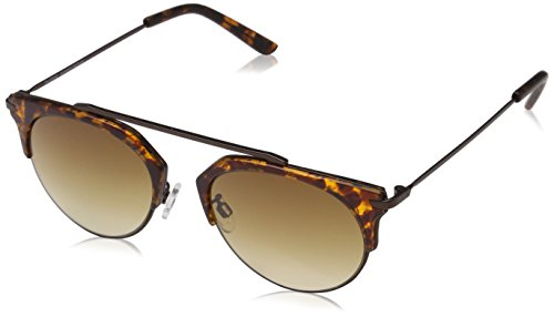 Pilgrim Damen Sunglasses: Lotus_PI: Brown plated Sonnenbrille, 49