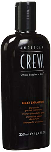 AMERICAN CREW Gray Shampoo for Men, 8.45 Fl Oz