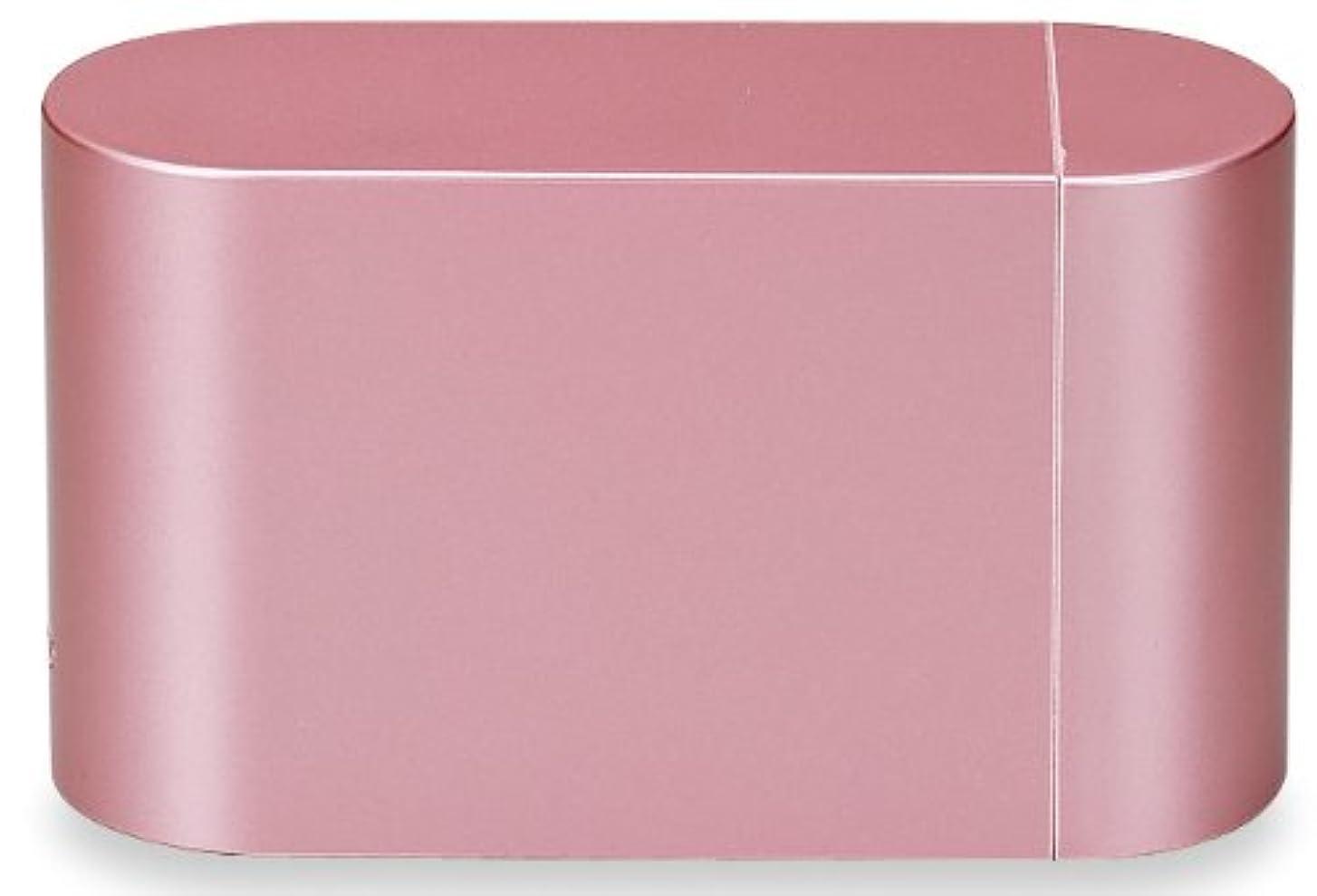 警察署ナース大使館正和 『お弁当箱 ハードケース付き』 BENTO mini メタルピンク 2段箸付き
