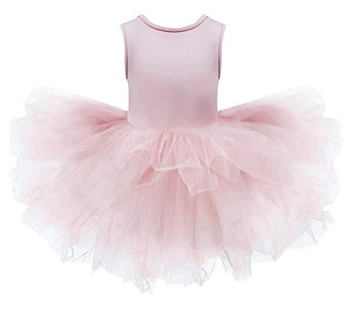 DEMU balletpak voor kinderen, met tuturock tutu 100 roze