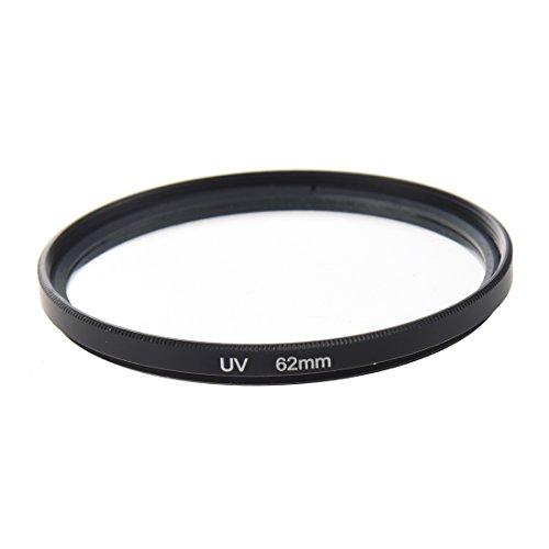 TOOGOO 62mm Ultravioleta UV Universal filtro lente camara + Funda
