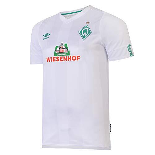 UMBRO SV Werder Bremen Trikot Away 2019/2020 Herren weiß/grün, L
