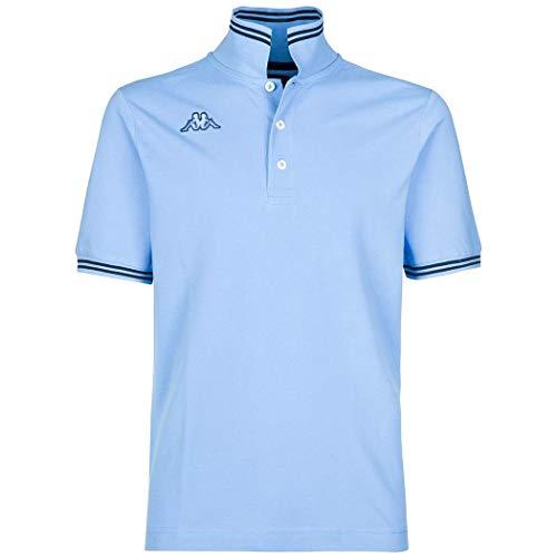 Kappa - Polo Herren T-Shirt Piqué Meer Sport Tennis Boot Fußball Art Maltax 5 Mss Large