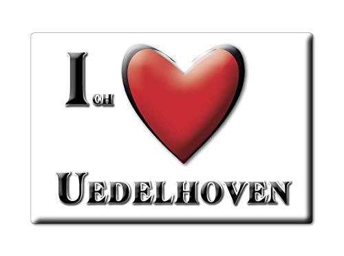 Enjoymagnets UEDELHOVEN (NW) Souvenir Deutschland Nordrhein Westfalen Fridge Magnet KÜHLSCHRANK Magnet ICH Liebe I Love