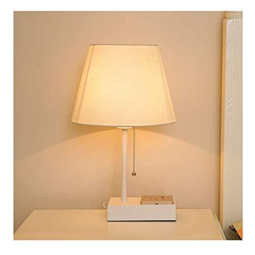 WFL-bureaulamp bureaulamp outlet tafellampen woonkamer decoratie slaapkamer nachtkastje licht Europese stoffen kap eenvoudig design decoratie hoogwaardige tafellamp