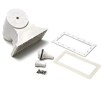 Waterway Plastics 806105101044 Flo-Pro II Wide Mouth Skimmer Above Ground Swimming Pool Kit
