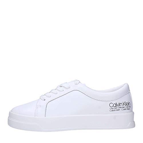 Calvin Klein Jeans E8873 Sneakers Donna White/Black 38