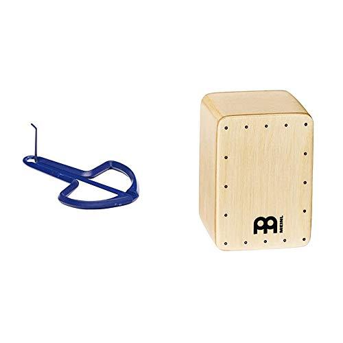 Fuzeau 4996Arpa de boca n.° 2, colores surtidos + Meinl Percussion SH50MIni shaker tipo cajón (madera de abedul)