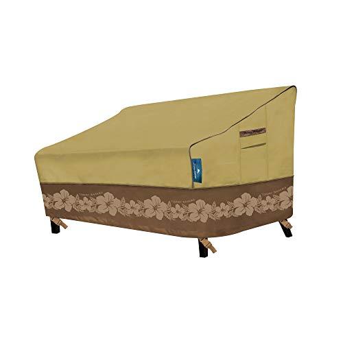 Fundas Protectoras 29201 para sofá de Patio Mediano, 2 – 3 Fundas de cojín, Color marrón Claro/marrón