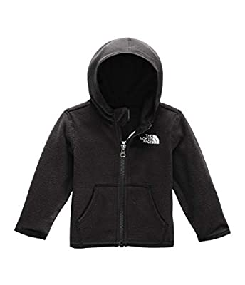 The North Face Infant Glacier Hoodie, TNF Black, 24M