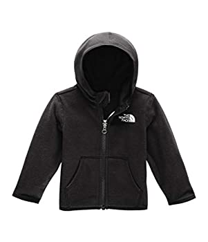 The North Face Infant Glacier Full Zip Hoodie TNF Black 0-3 Months
