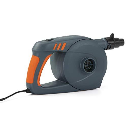 Bestway® Unisex Jugend PowerGrip AC Air Pump Elektrische Luftpumpen, grau, einheitsgröße