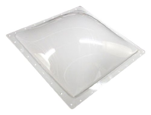 Bri-Rus SL1414W 14 Inch x 14 Inch Rectangle  White RV Parts