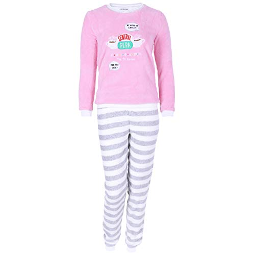 Pijama Gris-Rosa Amigos Friends - XL