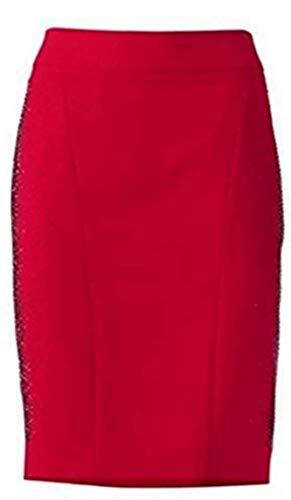 Ashley Brooke - Falda - para mujer rojo 36