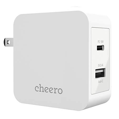cheero『cheero2portPDCharger(PD18W+USB)』
