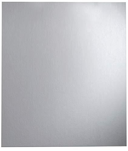 FACKELMANN Spiegel/Wandspiegelelement mit Befestigung/Maße (B x H x T): ca. 80 x 90 x 2 cm/hochwertiger, moderner Badspiegel/hoch und quer verwendbarer Badezimmerspiegel/Breite 80 cm