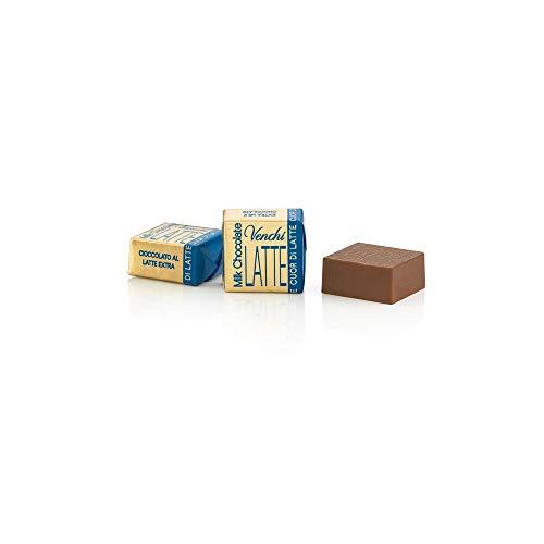 Venchi Cubotto di Cioccolato Puro al Latte in Busta Bulk, 1 kg - Senza Glutine