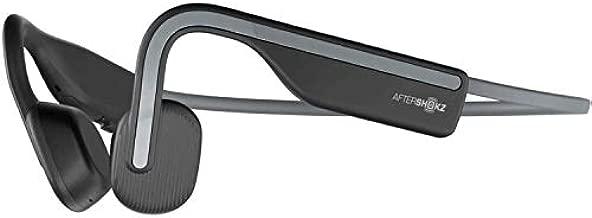 AfterShokz OpenMove Wireless Bone Conduction Open-Ear Bluetooth Headphones Includes Sticker Pack