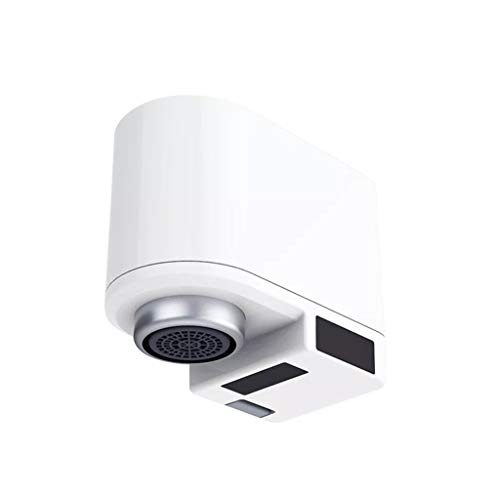 Lomsarsh Automatic Sensor Tap, Suitable for Xiaomi ZAJIA Automatic Sense Infrared Induction Water Saving Device Sink Faucet for Kitchen Bathroom