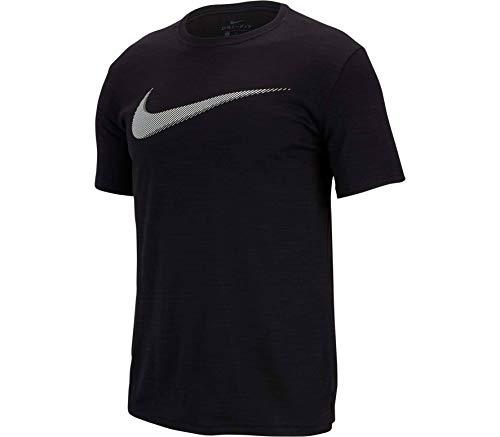 Nike Superset, T-Shirt Uomo, Black/(White), L