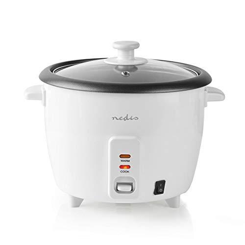 NEDIS Reiskocher | 500 Watt | 1,5 Liter | Weiß
