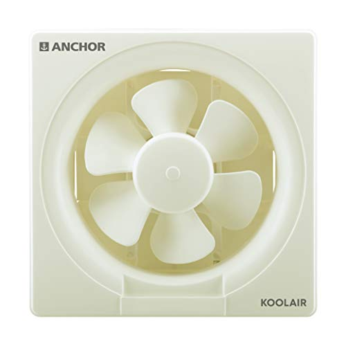 Anchor by Panasonic KoolAir - 250mm Ventilation | Exhaust Fan for Home, Office, Kitchen and Bathroom (Ivory)