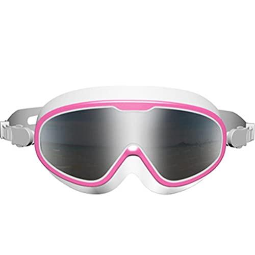 Lipeed Gafas de natación resistentes al agua antiniebla, portátiles, gafas de buceo, gafas de protección ocular, gafas de natación para adultos
