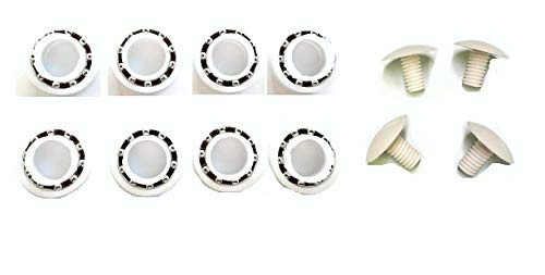 Great Deal! YZDD (Xcsx) 8 Ball Bearing for Polaris Pool Cleaner 180 280 C-60 C60 + 4 Pack Screws for...