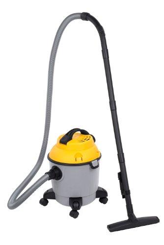 Powerplus POWX321Drum Vacuum Cleaner 18L 1000W schwarz, grau, gelb Staubsauger–Staubsauger (Drum Vacuum, trocken und naß, professionell, Teppich, Hartböden, schwarz, grau, gelb, Kunststoff)