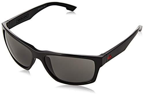 Quiksilver Trailway Gafas De Sol, Hombre, Black/Black/Grey-Combo, 1Sz