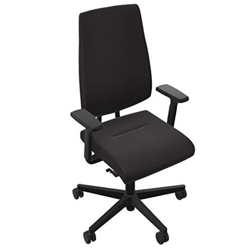 Sedus Black Dot bd-102 Schreibtischstuhl mit hoher Rückenlehne und Polster