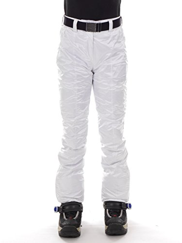 CMP Snowboardhose Skihose Schneehose Weiss GÜRTEL CLIMAPROTECT® 3W10566 (38)