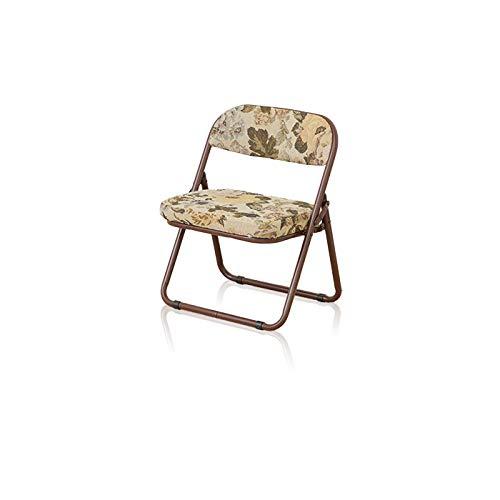 折りたたみ 高座椅子 パイプ椅子 軽量 軽い ゴブラン柄 ローチェア 和座敷チェア 座敷椅子 和室 低め クッション