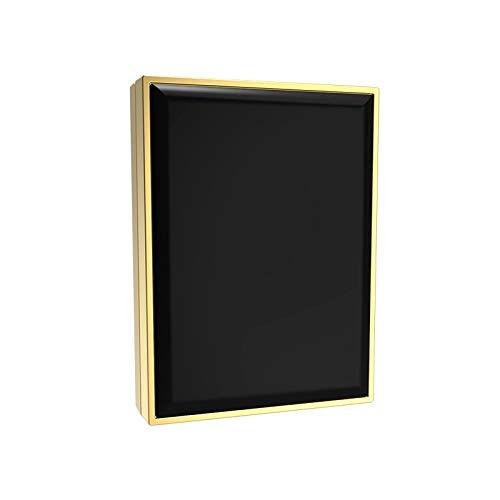 Maquillage Miroir Miroir LED Lights Vanity Avec Grossissante Écran Tactile Voyage (Couleur : Noir)
